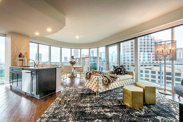 This is the premier luxury living experience in Dallas UpTown 75204